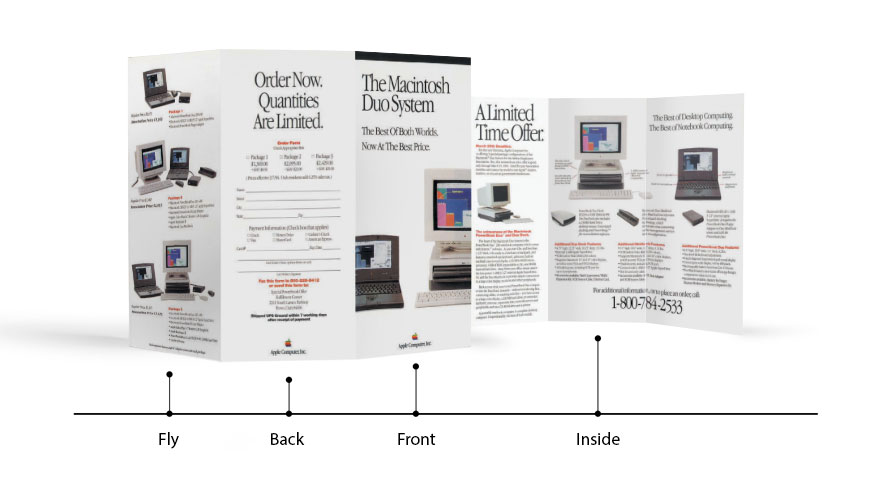 3 panel brochures for Brochure design software for mac